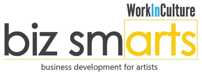 Logo of WorkInCulture's Biz Smart webinars