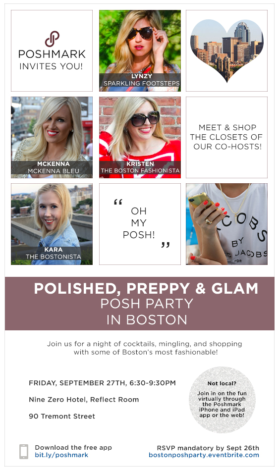 Boston Posh Party
