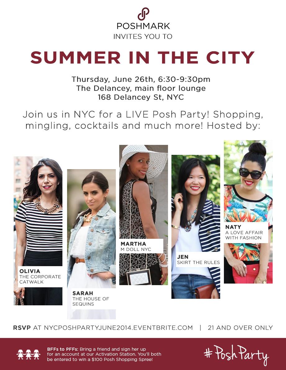 NYC Posh Party - June 2014