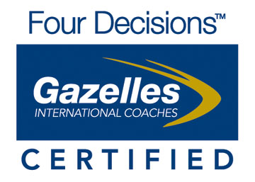 Four Decisions Gazelles Logo