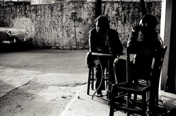 Cafe, Crete © 1982 Simon Andrew MacArthur