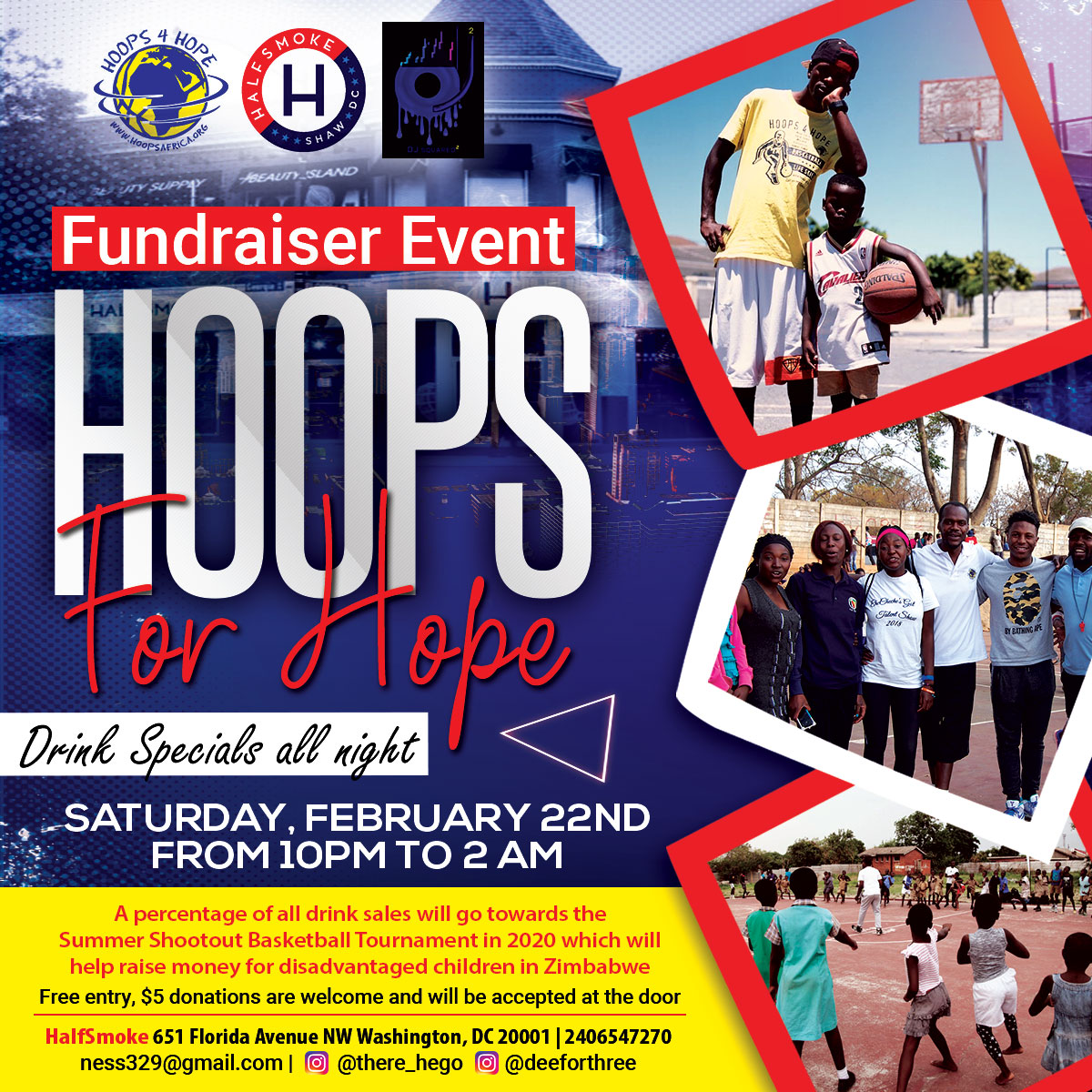 H4H February Event Flyer