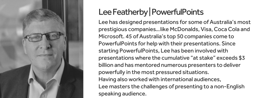 Lee Featherby Powerful Points Bio