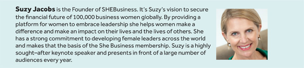 Suzy Jacobs SHE Business