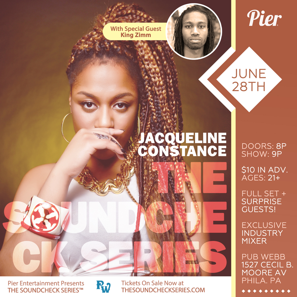 THE SOUNDCHECK SERIES: Jacqueline Constance