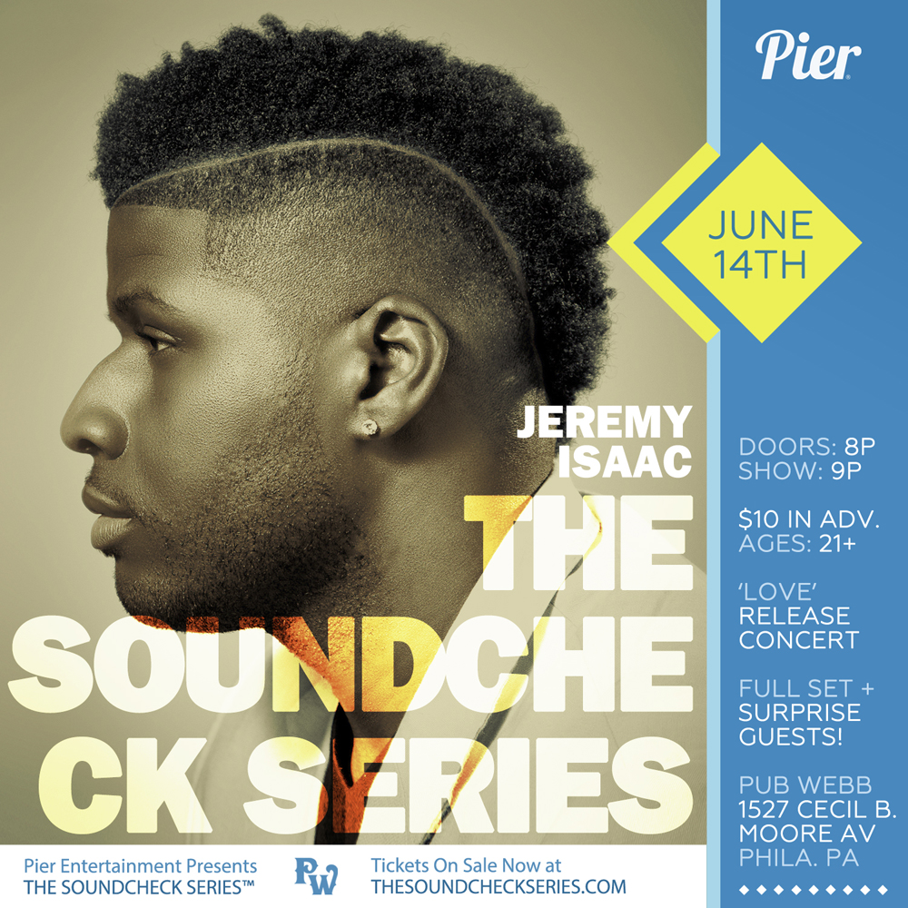THE SOUNDCHECK SERIES: Jeremy Isaac
