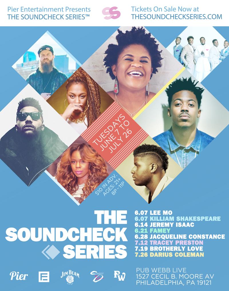 Pier Entertainment Presents THE SOUNDCHECK SERIES™