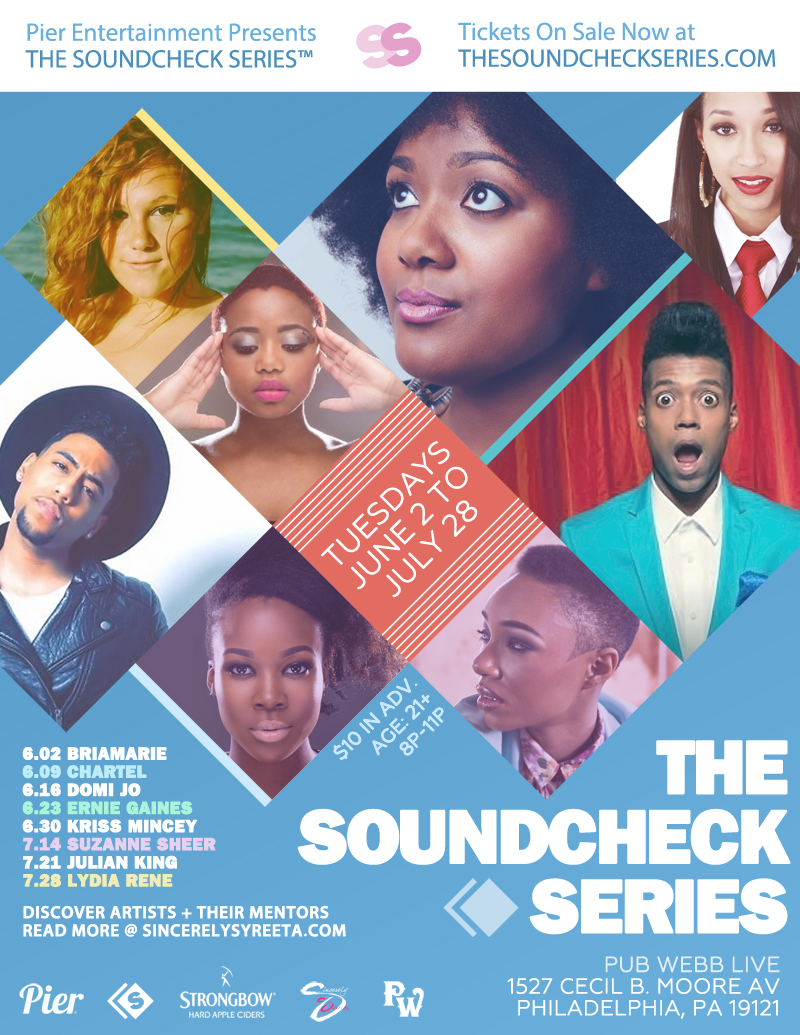 Pier Entertainment Presents THE SOUNDCHECK SERIES™