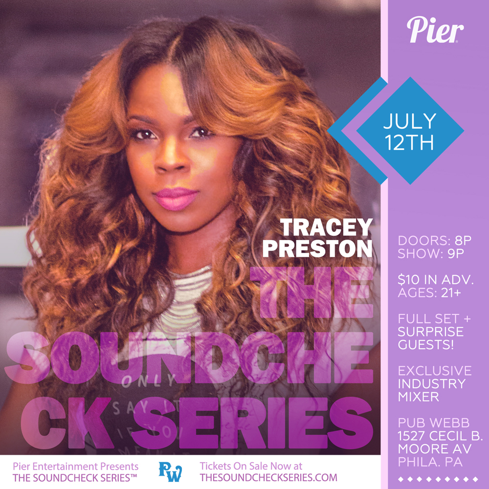 THE SOUNDCHECK SERIES: Tracey Preston