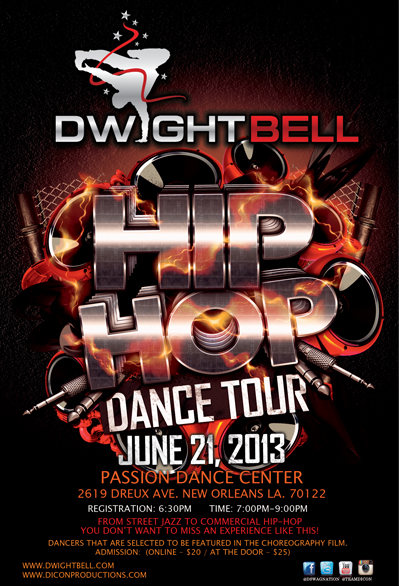 Dwight Bell's Hip-Hop Dance Tour: New Orleans