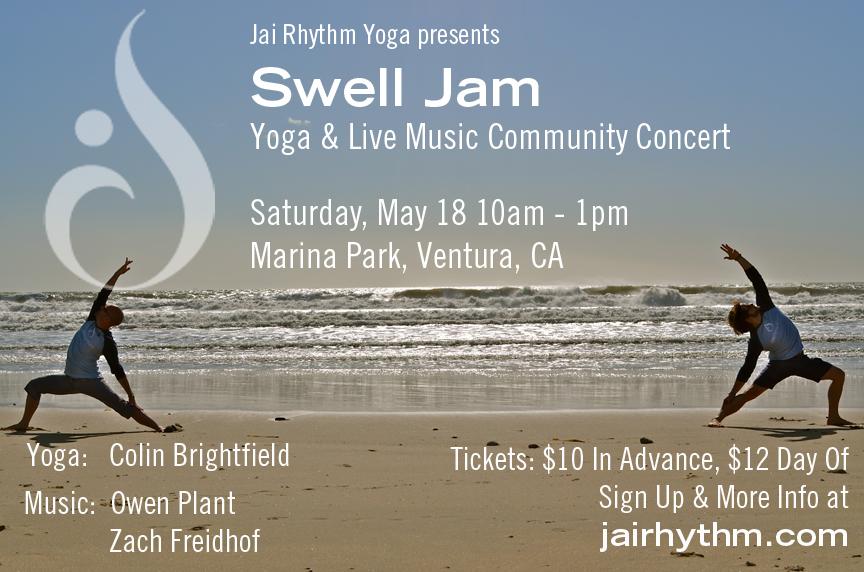 Swell Jam Flyer