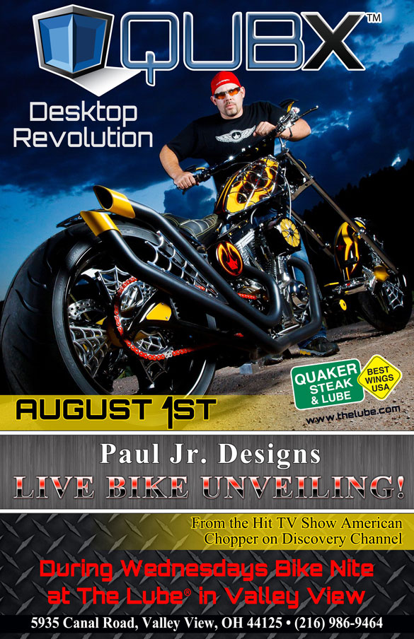 Paul jr designs bike unveil vip tickets and front section viewing