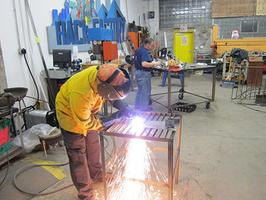 Fun with Metal - Dec 2012 Welding Class