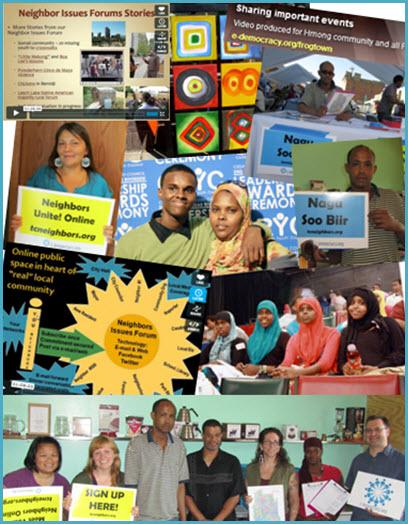 Inclusive Social Media Collage