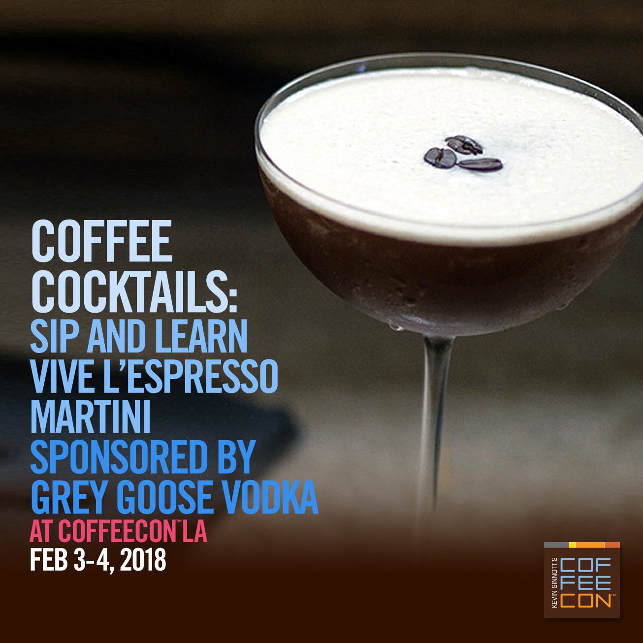 Grey Goose Coffee Cocktails at CoffeeConNY