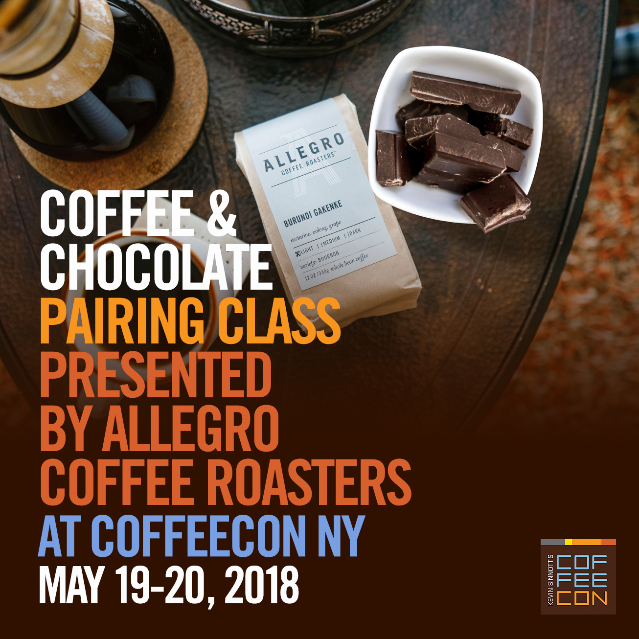 Coffee & Chocolate Pairing with Allegro Coffee Roasters