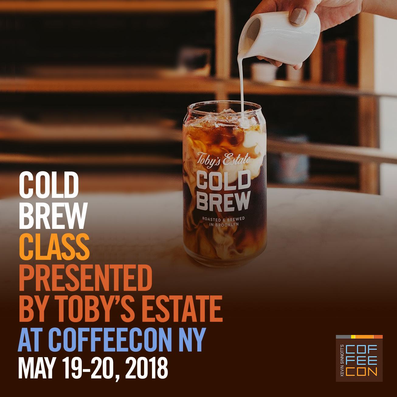 Cold Brew Toby's Estate