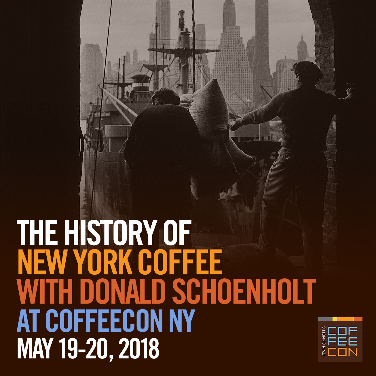 The History of NY Coffee with Donald Schoenholt