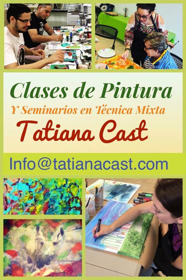 Clases de Pintura con Tatiana Cast