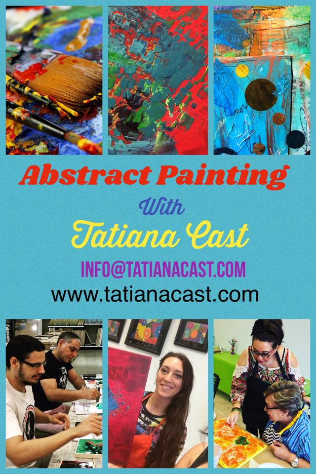 Abstract Painting with Tatiana Cast