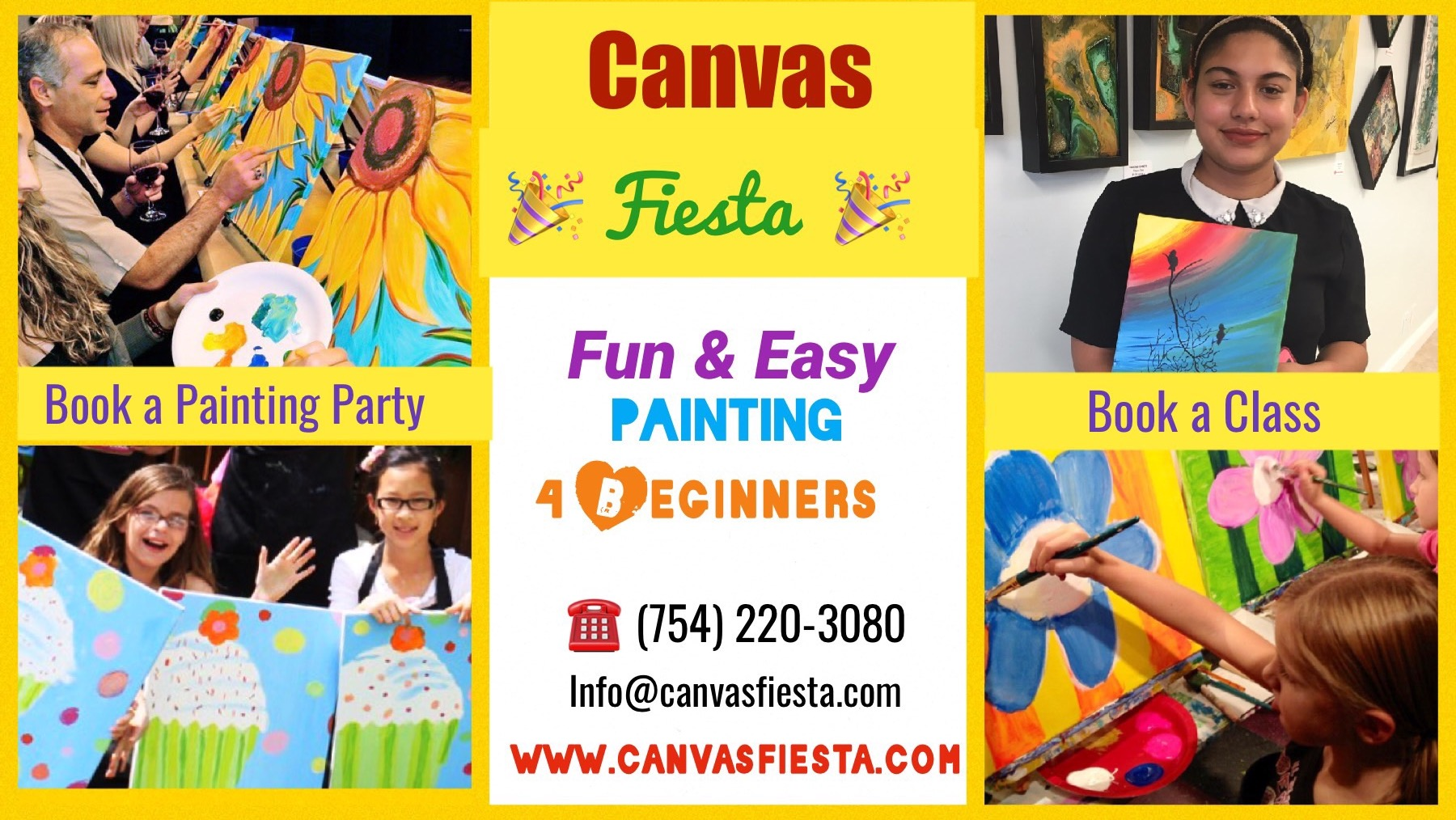 Painting with Canvas Fiesta