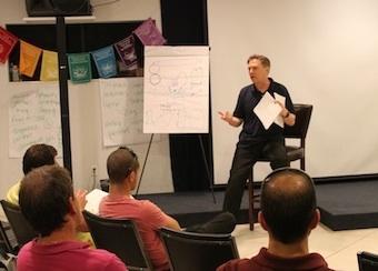 Doug O'Brien leading an NLP Essentials Seminar