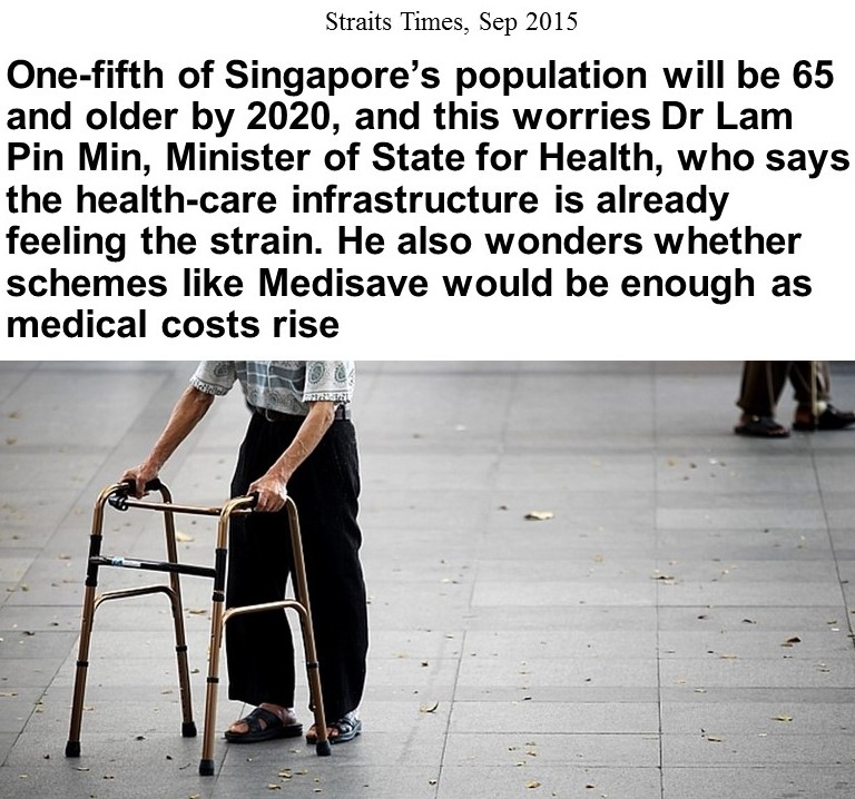 Health Aging Singapore