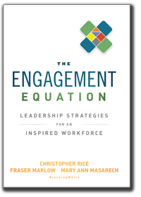 the Engagement Equation - leadership strategies for an inspired workforce
