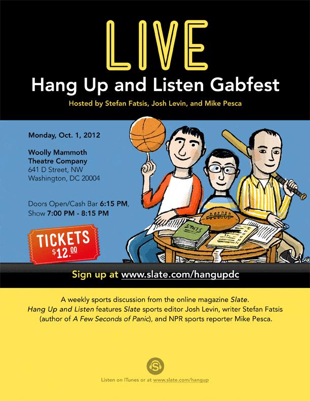 Live Hang Up Gabfest