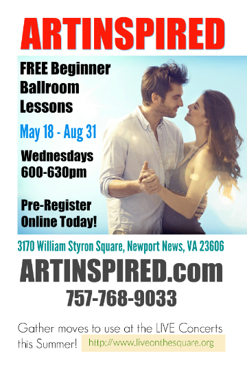 FREE Beginner Ballroom Lessons Summer of 2016