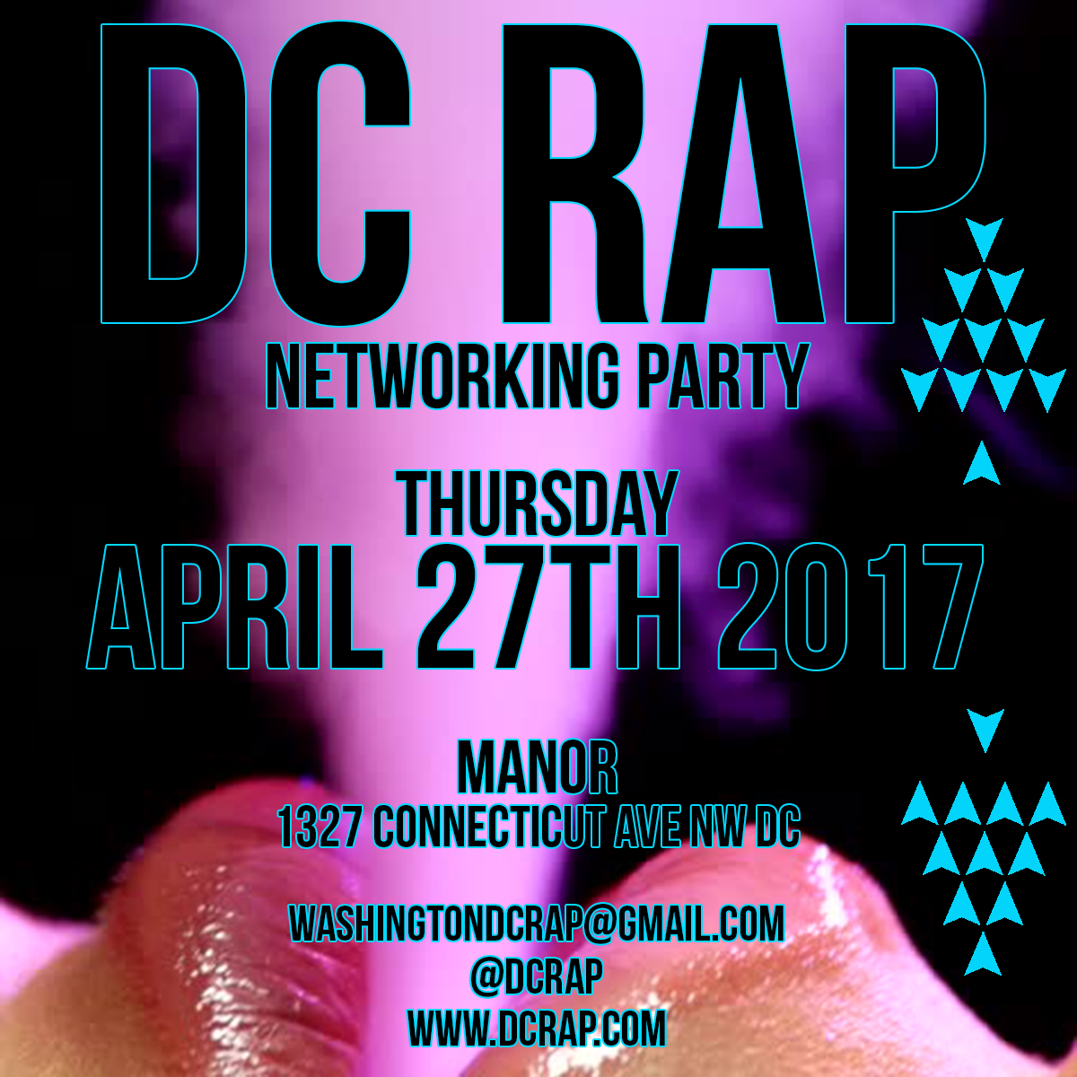 DC Rap Networking Party at Manor