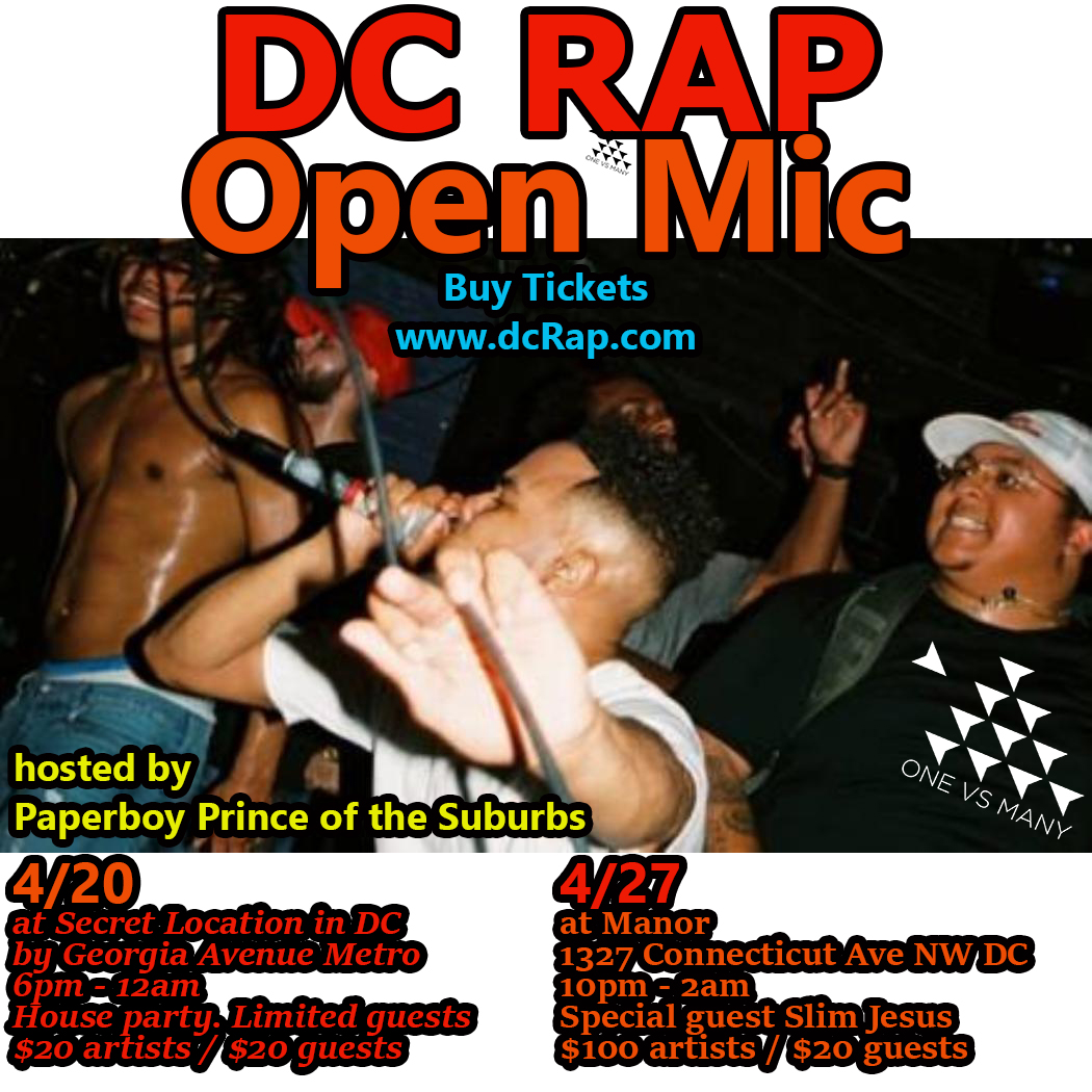 DC Rap Open Mic