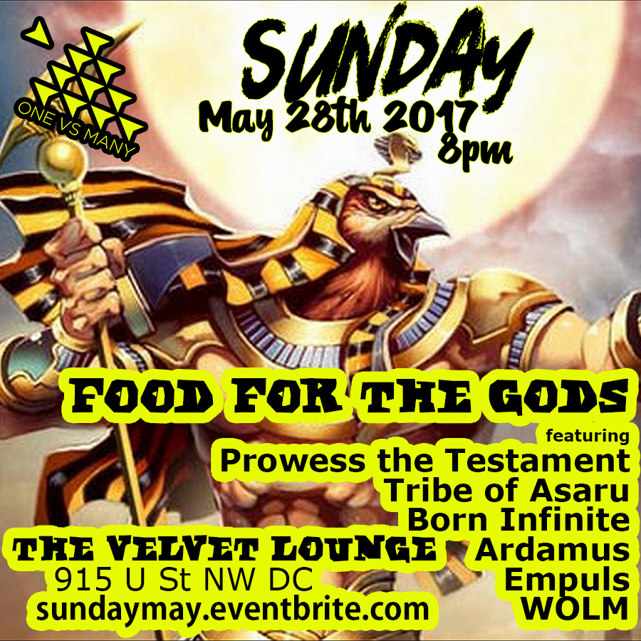 Sunday - May 28th, 2017 at Velvet Lounge