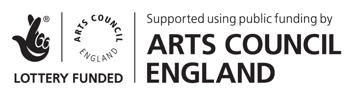 Lottery Funded Arts Council England Logo