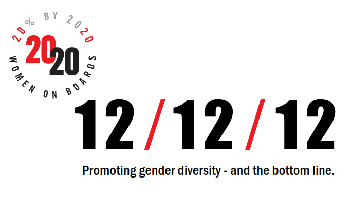 12/12/12 Promoting gender diversity - and the bottom line.