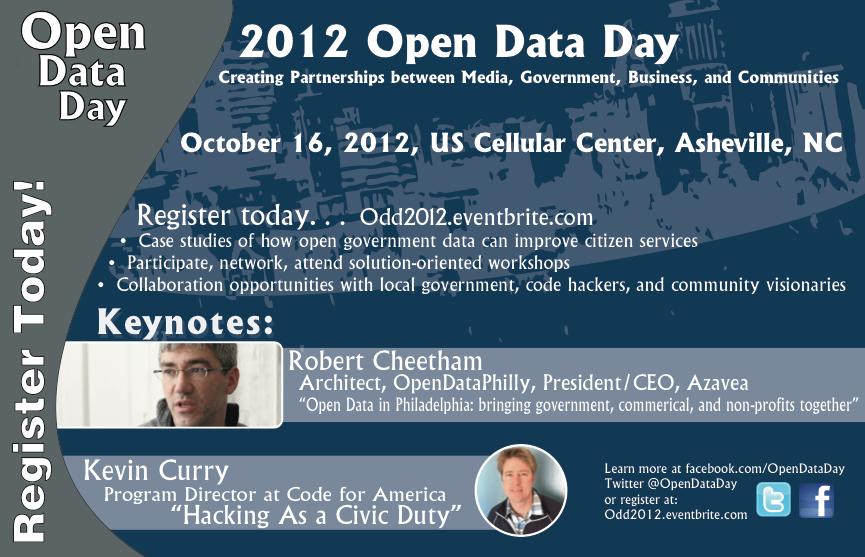 Open Data Day Flyer