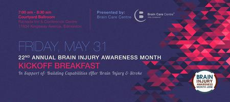 22nd Annual Brain Injury Awareness Month Kickoff Breakfast