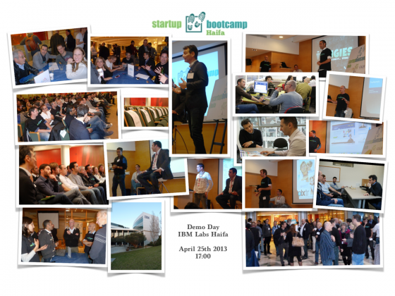 Startupbootcamp Israel - Demo Day!