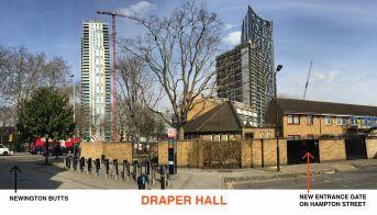 Draper Hall's Entrance