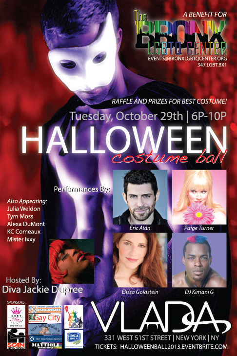 Halloween Costume Ball Flyer