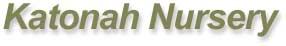 Katonah Nursery's logo