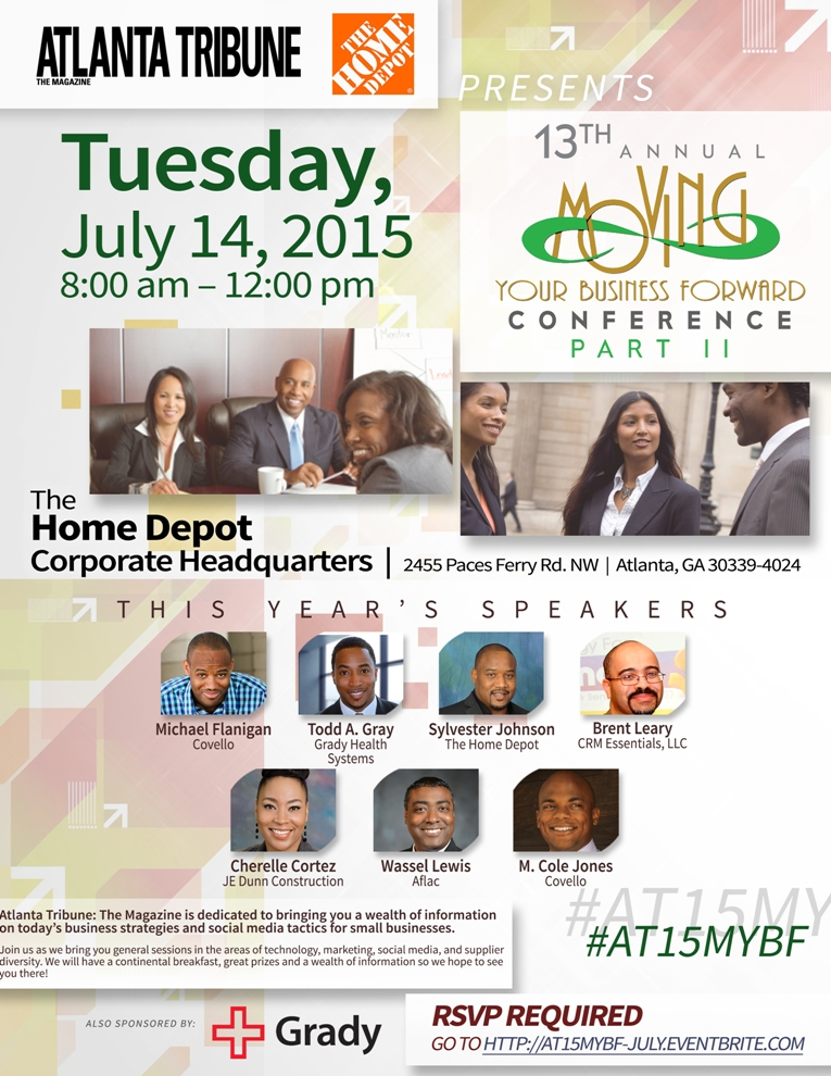 July 2015 Moving Your Business Forward Conference