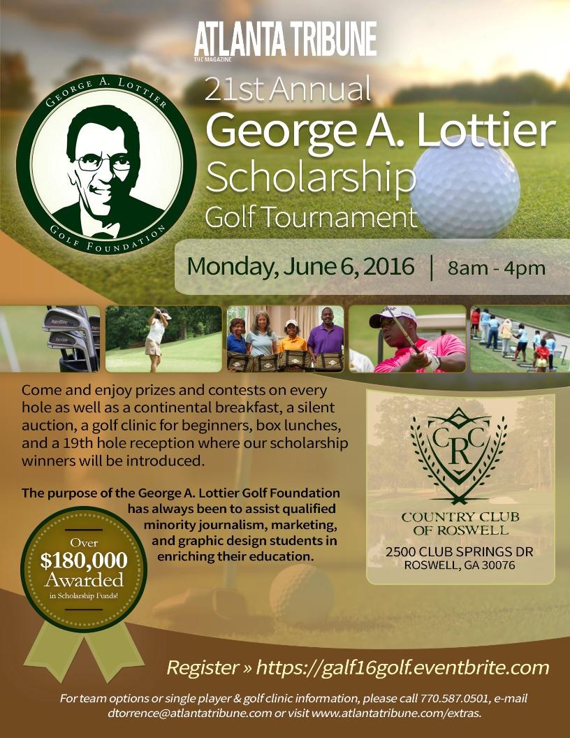 2016 George A. Lottier Scholarship Golf Tournament