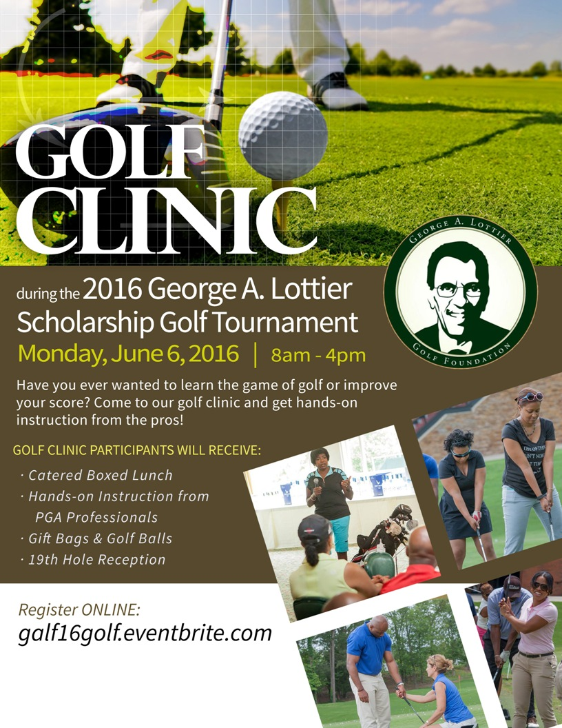 2016 George A. Lottier Scholarship Golf Clinic