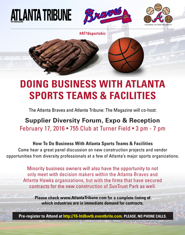 2016 Doing Business With Atlanta Sports Teams & Facilities