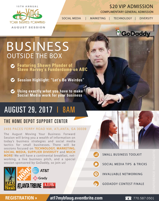 2017 Moving Your Business Forward August Session