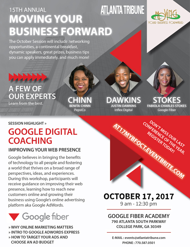 2017 Moving Your Business Forward October Session