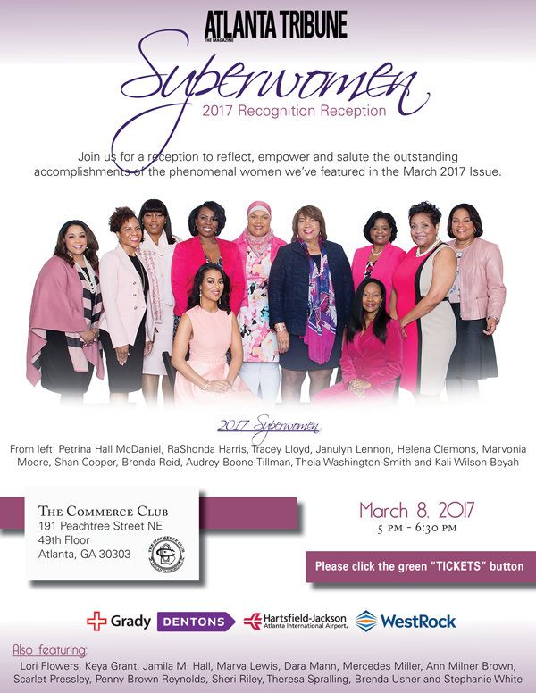 2017 Superwomen Recognition Reception