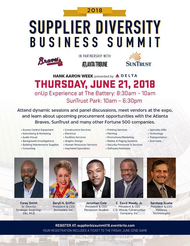 2018 Supplier Diversity Business Summit