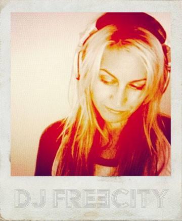 DJ Amy Alexander, aka DJ FreeCity